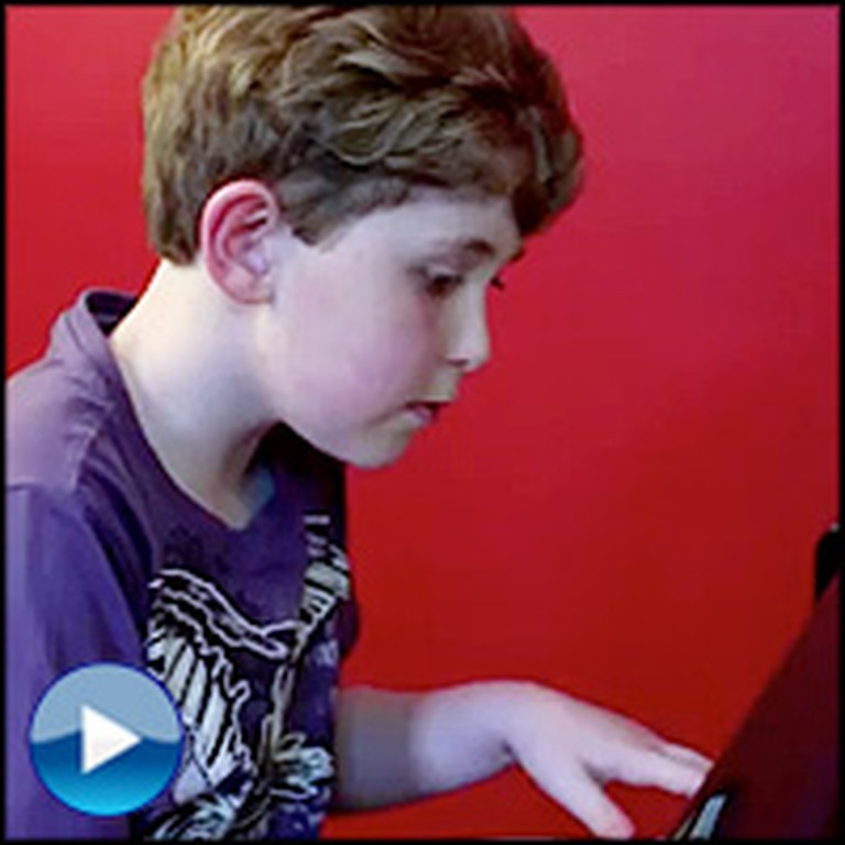 9 Year-Old Piano Prodigy Has a Beautiful Gift From God