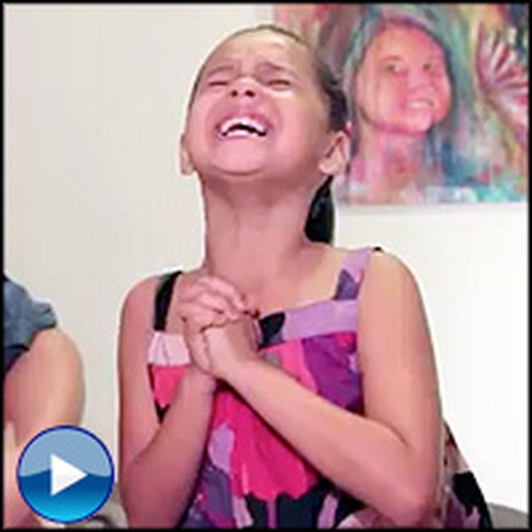 An Adorable Little Girl and Her Dad Sing About Brotherly Love Together