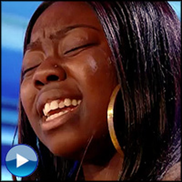 17 Year-Old Homeless Girl Brings Judges to Tears With Her Voice... Amazing.