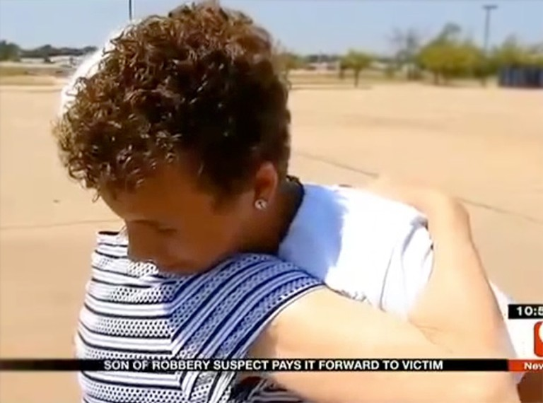 Kind-Hearted Teen Makes Amends for the Crimes of His Father