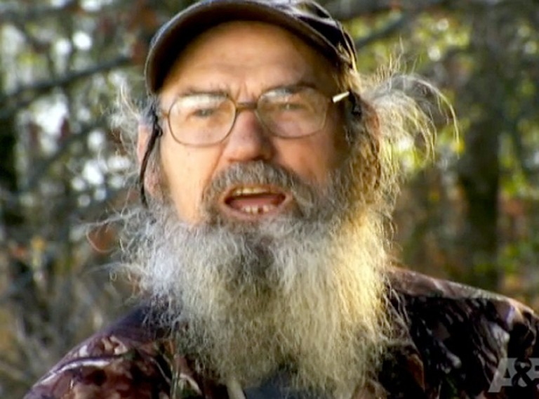 Duck Dynasty's Uncle Si Shares his Christian Faith - Listen to His Interview.