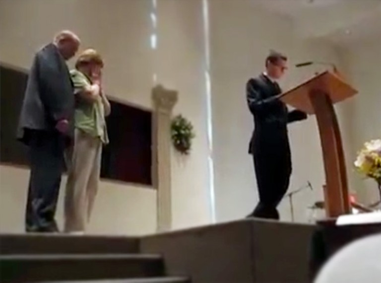 Mom and Dad Get an Amazing Surprise in Church