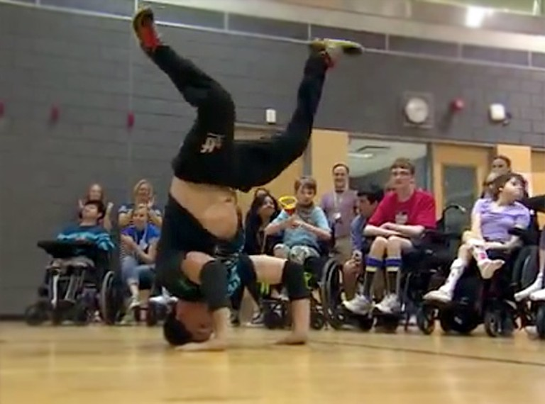 Breakdancer With Genetic Disorder Inspires Special Needs Children - He Will Drop Your Jaw!