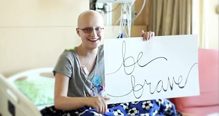 Sick Children Make an Uplifting Music Video - and Show Us How to Be Brave! :)