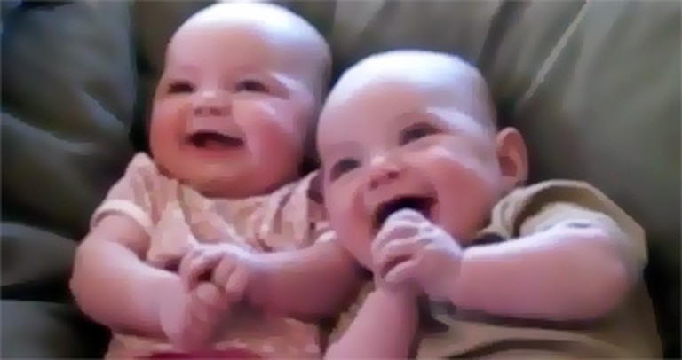 These Laughing Babies are Full of Joy - and It's Contagious. :)