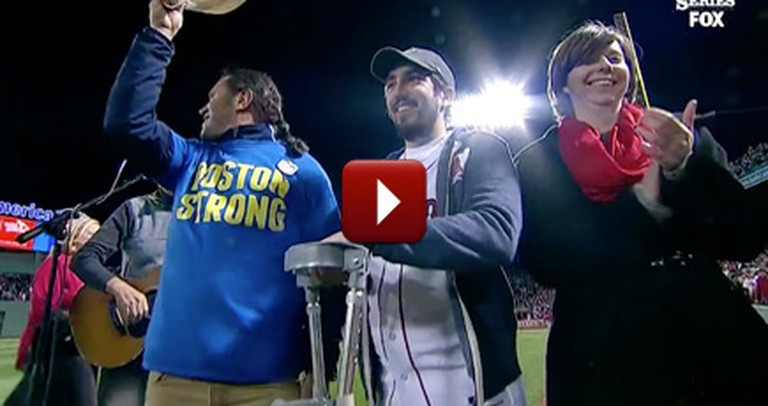 World Series Honors Boston Marathon Tragedy Survivors - It'll Touch Your Heart