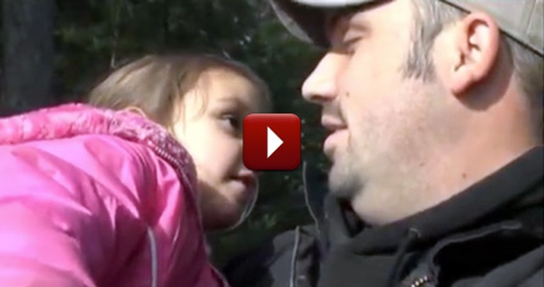 When a Firefighter Was in Trouble, It Was His 4 Year-old That Came to the Rescue