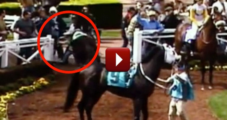 92 Year-Old Man Shields Girl With His Body as a Horse Tramples Them