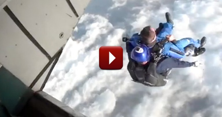 To Celebrate Being Alive for a Century, This Man Does Something Mind-Blowing!