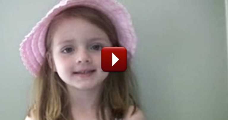 Sweetest Little Angel Delivers a Message of Love and Kindness You Need to Hear