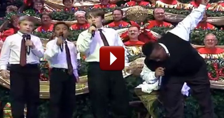 There's Something Hilarious About this Children's Gospel Quartet - LOL