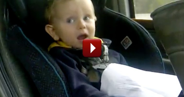 Silly Little Boy Thinks He is Singing a Taylor Swift Hit - LOL