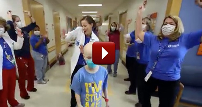 Children's Hospital Staff Do Something Unorthodox to Cheer up Patients