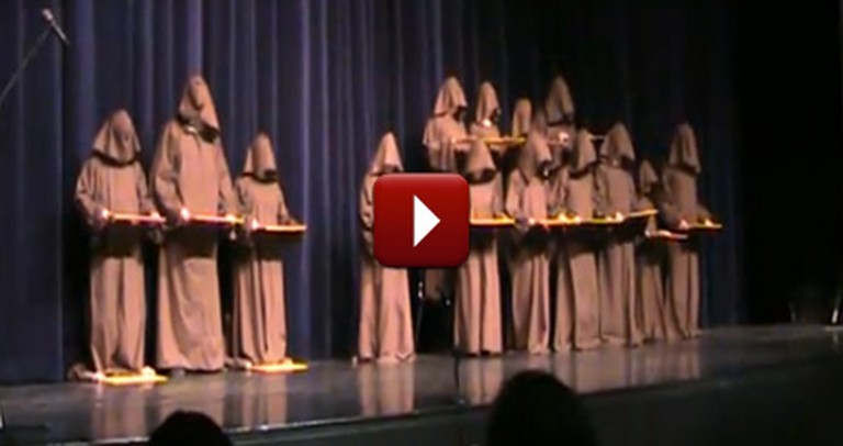 What a Choir of Silent Monks Does Will Make You Laugh