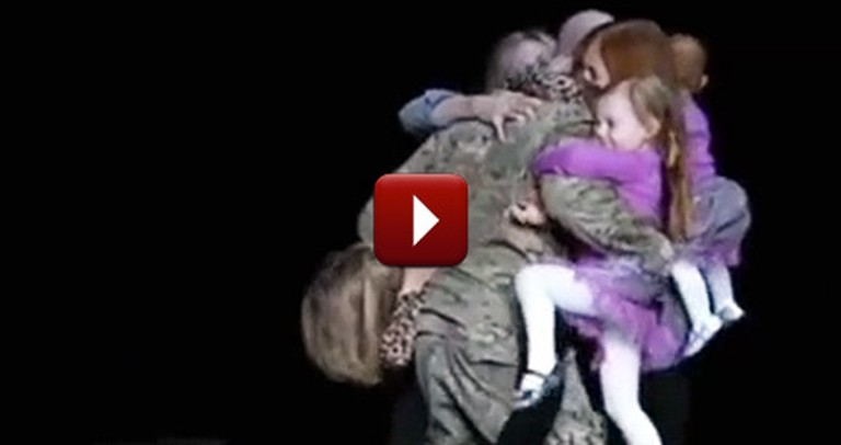 One Family Gets an Epic Surprise During a Christian Concert