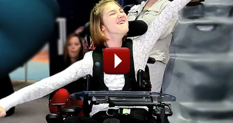 Nurses Perform the Most Heartwarming Flash Mob for a Teen with Cerebral Palsy