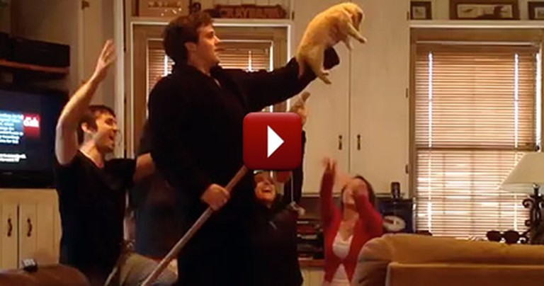 Five Kids Give Their Parents a Huge Surprise - Lion King Style