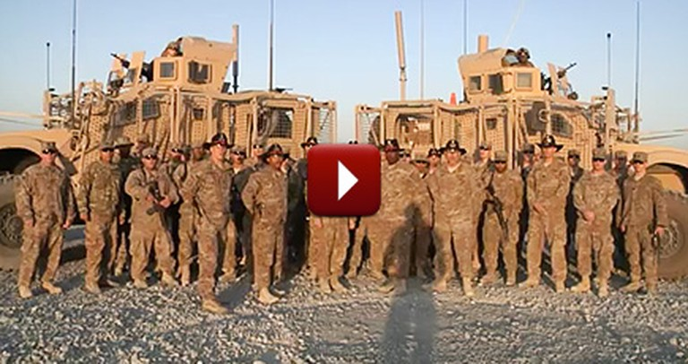 These Troops in Afghanistan Have a Special Message You Should Hear
