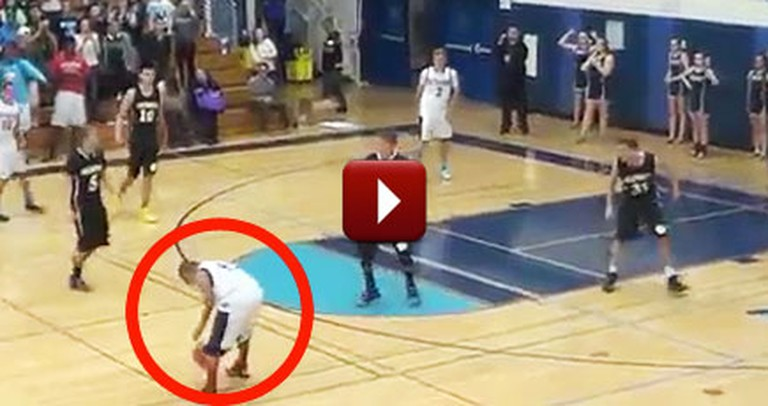 At the Last Second, This Special Needs Student Became a Hero for His Team