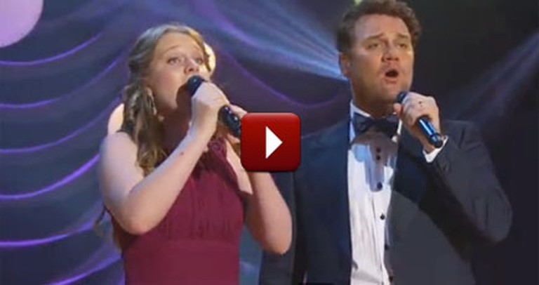 David Phelps and His Daughter Sing the Most Breathtaking Duet