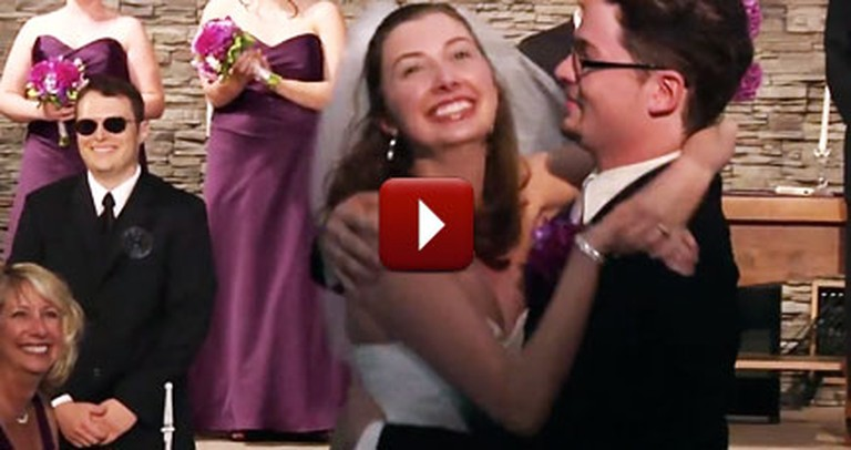 Loving Couple Found the BEST Way to End and Exit Their Wedding
