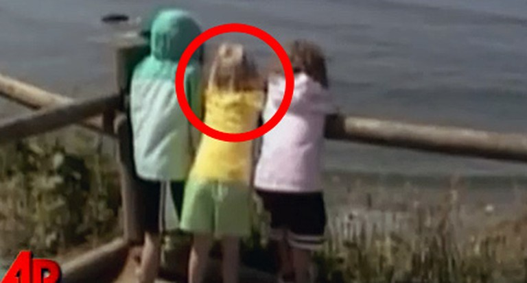 Video Shows a Little Girl Fall Over a Cliff - And Get Saved