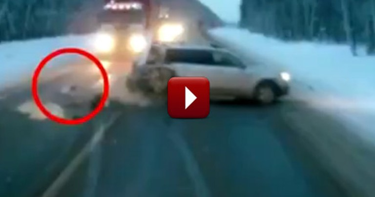 God Miraculously Protects a 1 Year-Old From Being Killed in a Violent Crash