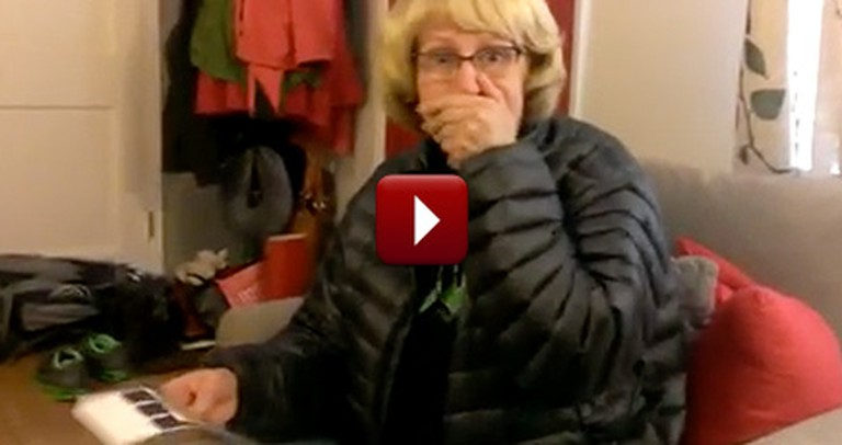 Son Gives His Mother a Surprise so Epic, It Leaves Her Speechless