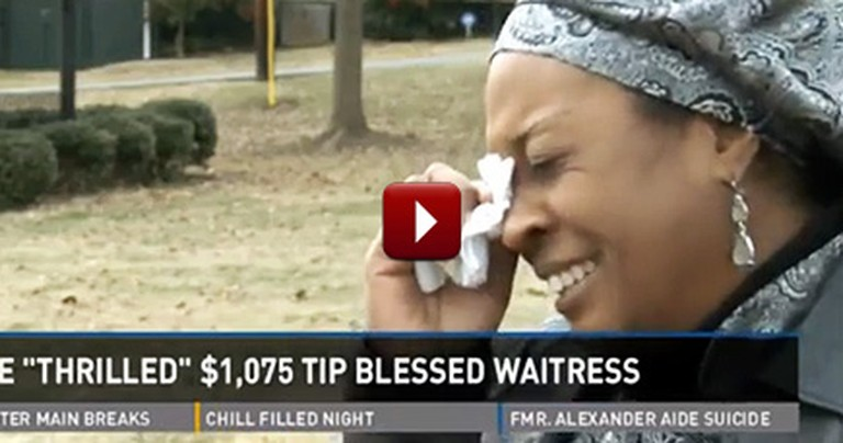 Christian Couple Gives a Waitress a Tip That Changes Her Life - Amazing