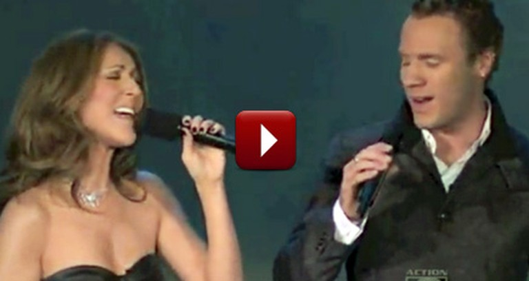 Celine Dion Surprises the Canadian Tenors and Sings Hallelujah With Them