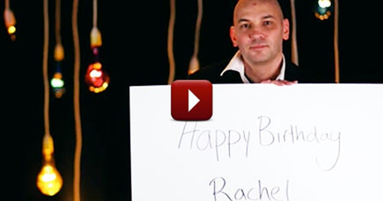 Man Gives his Wife a Touching Birthday Gift Before Dying of Cancer