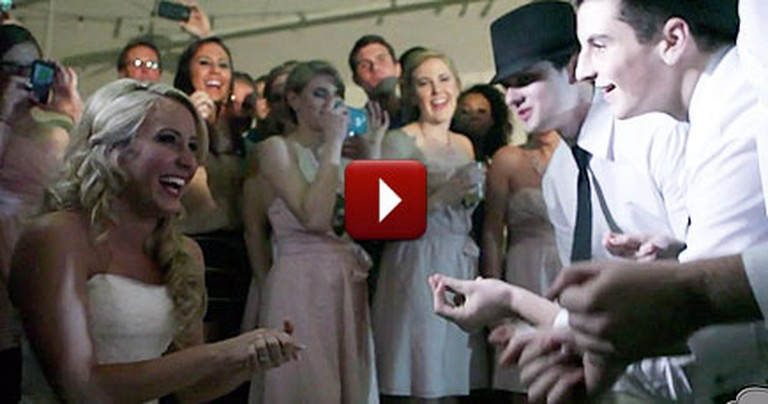 Every Bride is a Darling Treasure - Watch the Surprise This One Got!