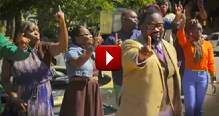 An Amazing Gospel Flash Mob Will Leave Your Jaw on the Floor. WOW.