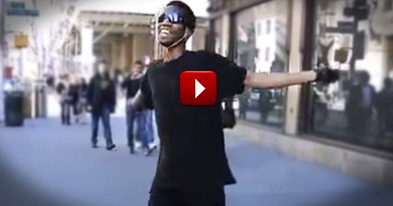 Dancing Stranger Will Brighten Your Day