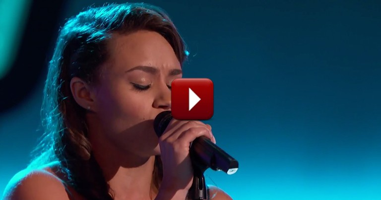 Girl Gives Stunning Audition with Girl Gives Stunning Audition with 'Stand By Me' on The Voice
