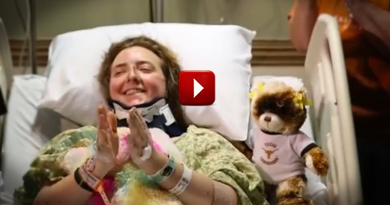Car Crash Survivor's Day is Made Better by Awesome Surprise