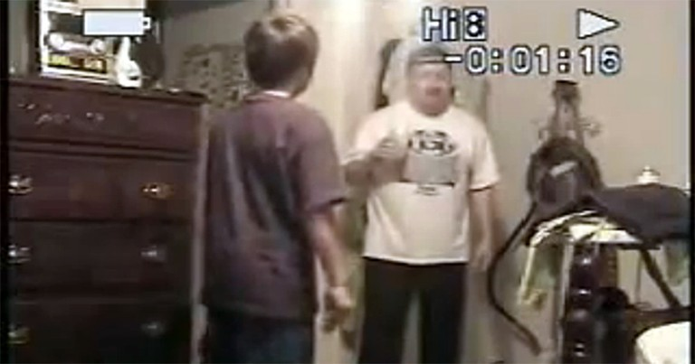 Dad Walks in on His Son Dancing - and Does Something Hilarious!