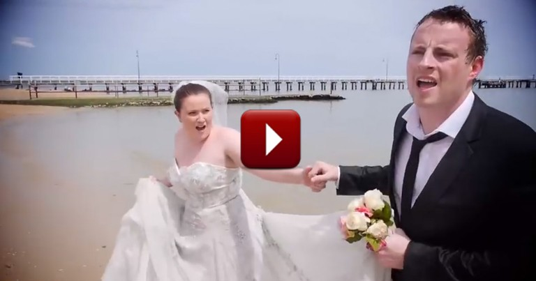 The HILARIOUS Reason This Couple Was Late for Their Own Reception