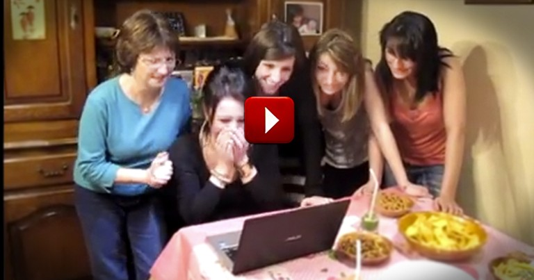 This Sister is About to Get the Best Birthday Surprise Ever