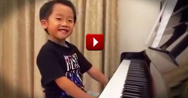 5-Year-Old Is A Shockingly Talented Musician. But He's So Cute I'd Watch Him with the Sound Off