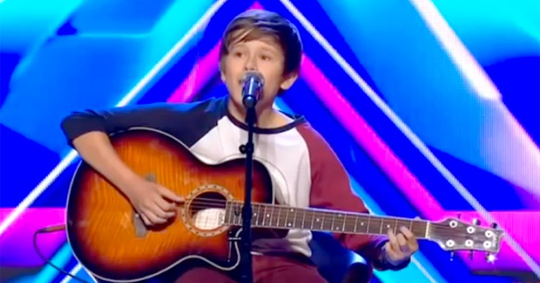 14 Year-Old Schoolboy Has the Voice of an Angel - He'll Blow You Away