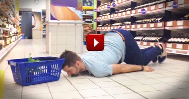 How This Man Filled His Grocery Basket - WHOA! This Is Why I Do the Shopping in My House!