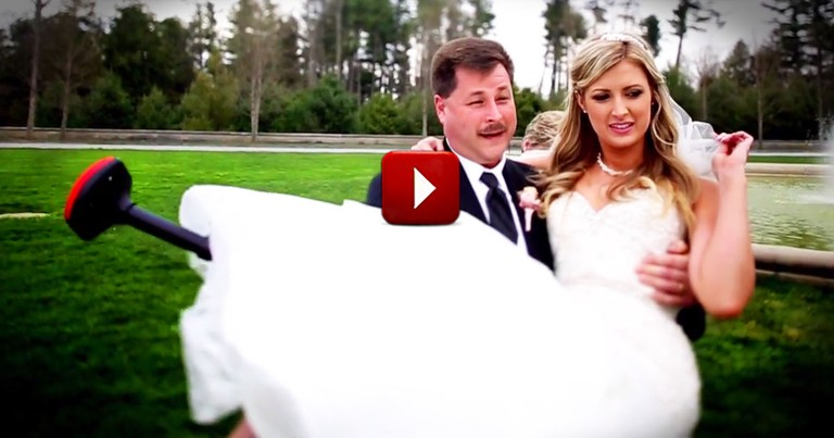 I Cry At All Weddings. But THIS One Had Me In Tears for a Totally Different Reason!