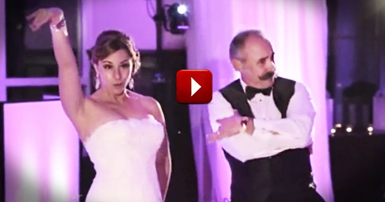 Shockingly Awesome Father-Daughter Dance Will Take You by Surprise