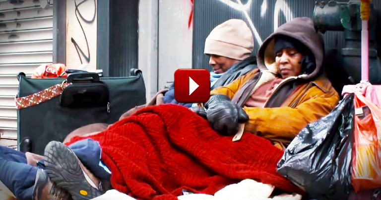 Imagine Your Family Is Homeless.  You'd Never Walk Right By Them.  Or Would You...