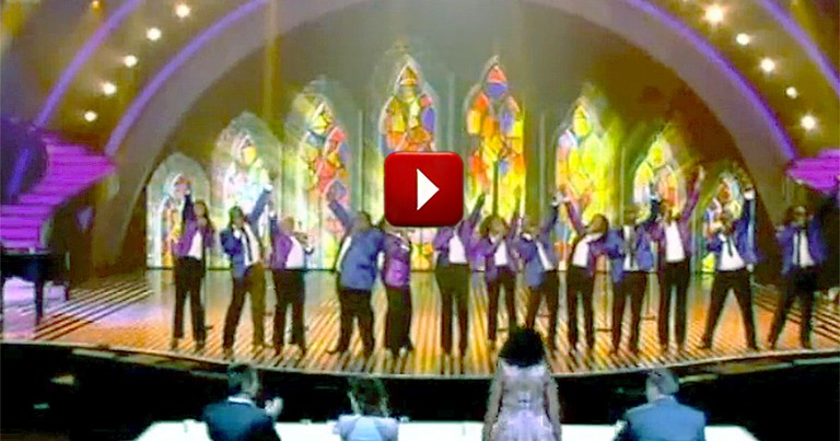 Gospel Choir's Anointed Performance Made the Judges Feel the Presence of God