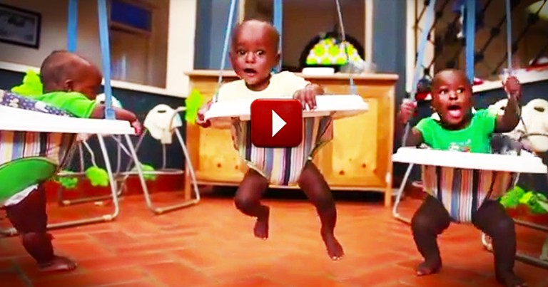 This Beautiful Story is So Moving.  When The Children Started Singing at 1:42--WHOA!