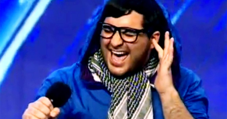 Judges Thought This Guy Was a Joke But Then He Started Singing