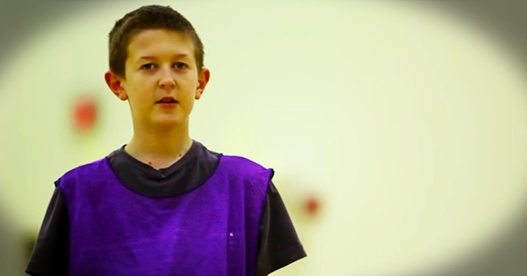 Only 38 Seconds In, This Boy Does Something Shocking. His Bravery Is Inspirational! WOW