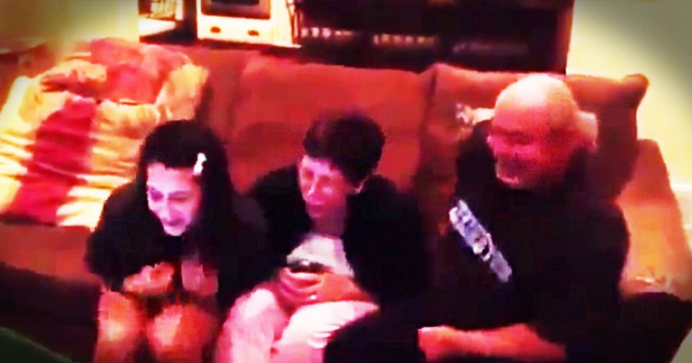These Parents Had No Idea What Surprises Were In Store For Them. I Freaked Out At 1:10!